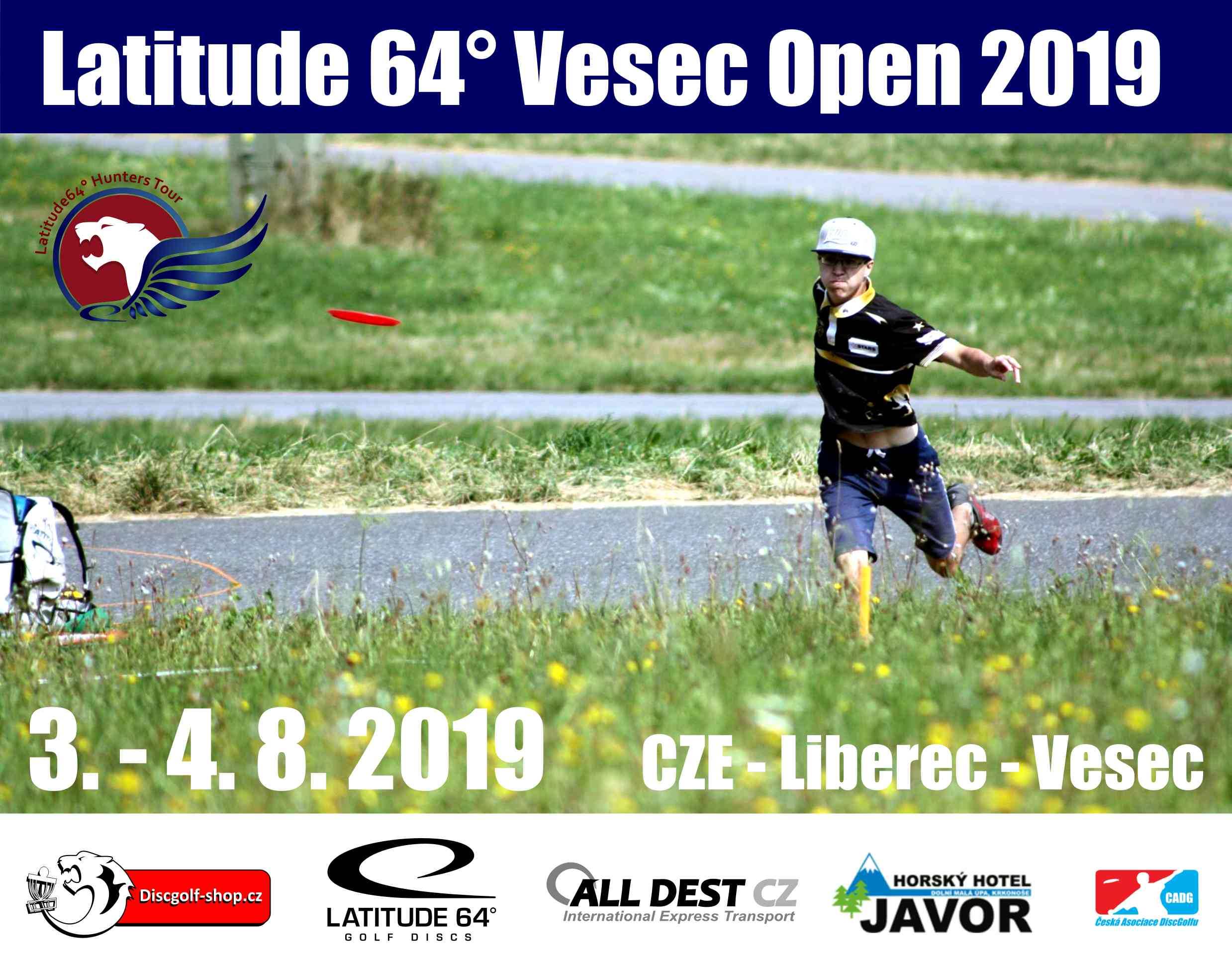 Registrace na Vesec Open 2019